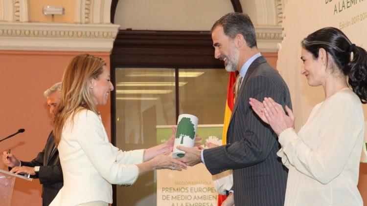 (Español) PRS recibe el Premio Europeo de Medio Ambiente a la Empresa en España de mano de S.M. el Rey