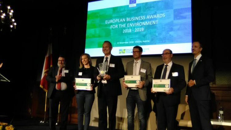 (Español) PRS logra un accésit en los Premios Europeos de Medio Ambiente de la Comisión Europea